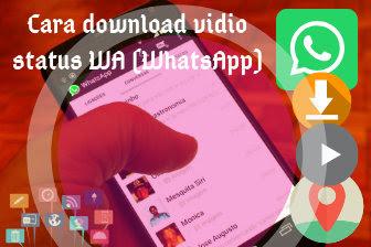 Cara download vidio status WhatsApp mudah dengan aplikasi status downloader