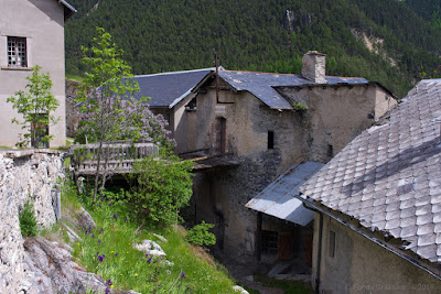 Fort du Queyras (Alpes) — Boulangerie & manutention