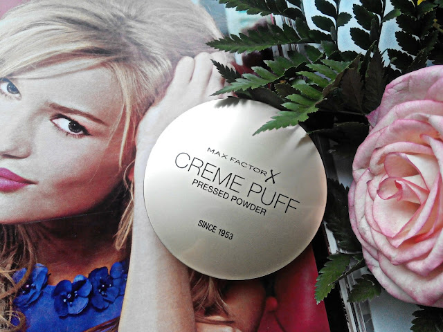 Max Factor Creme Puff Pressed Powder Компактная пудра