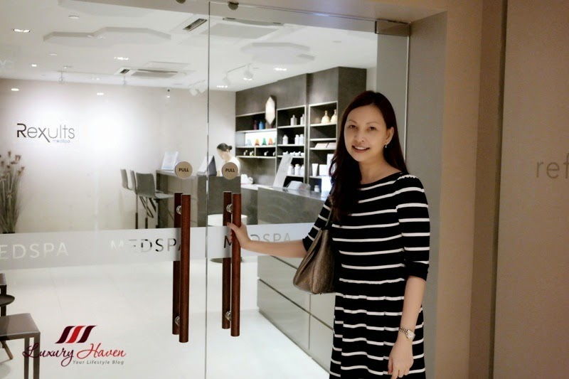 singapore celebrity influencer reviews rexults medspa