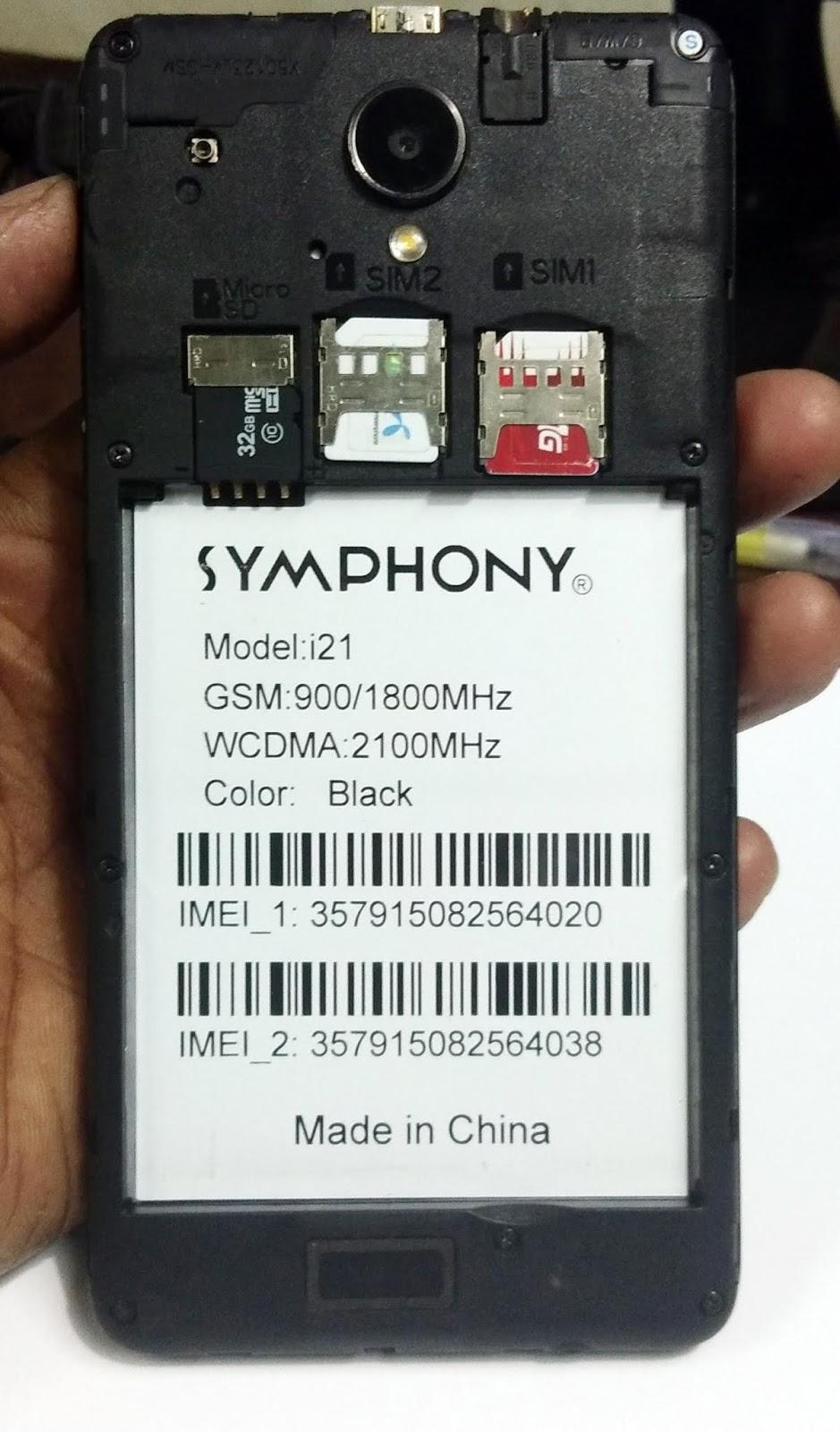 symphony i21 flash file