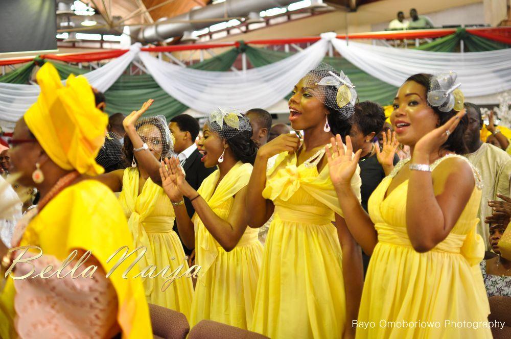 Nigerian Bridesmaids & Headpieces - KnotsVilla