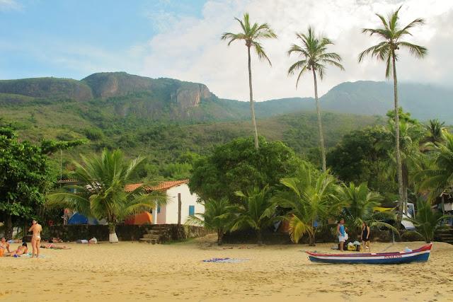 Praia de Ipanema, em Paraty