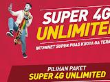PAKET INTERNET 4G UNLIMITED SMARTFREN KUOTA TAK TERBATAS