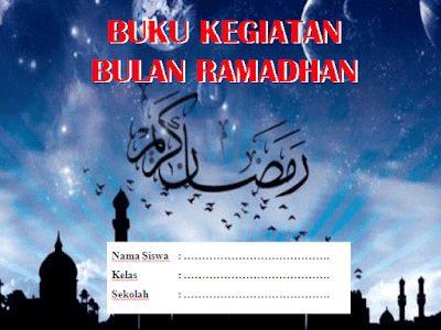 Cetak Buku Agenda Kegiatan Bulan Ramadhan