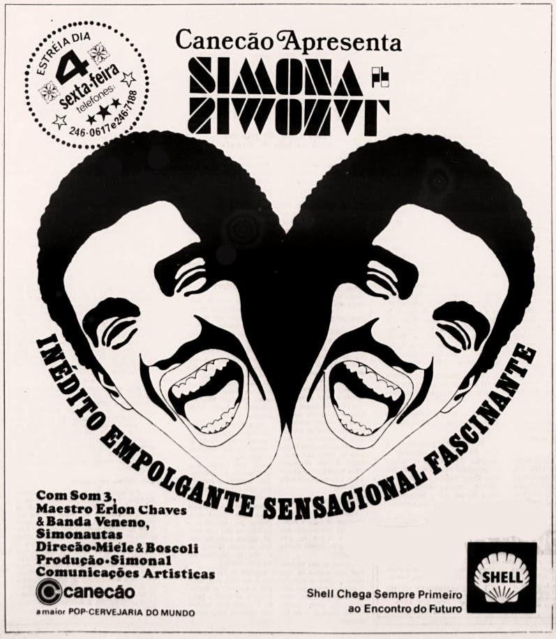 Wilson Simonal,  década de 70, anos 70, Oswaldo Hernandez,