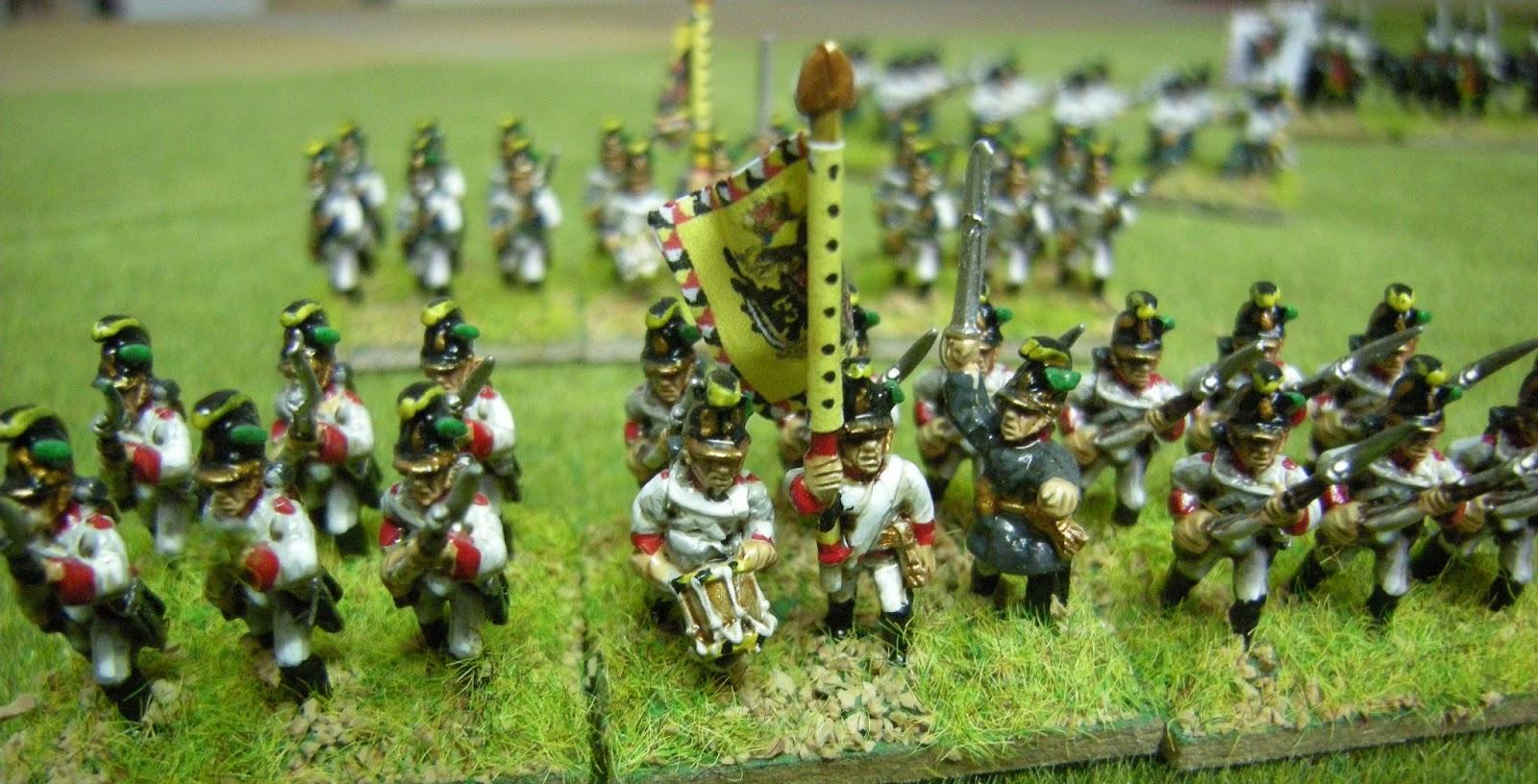 abc wargamers 15mm napoleonic warrior miniatures austrians. Black Bedroom Furniture Sets. Home Design Ideas