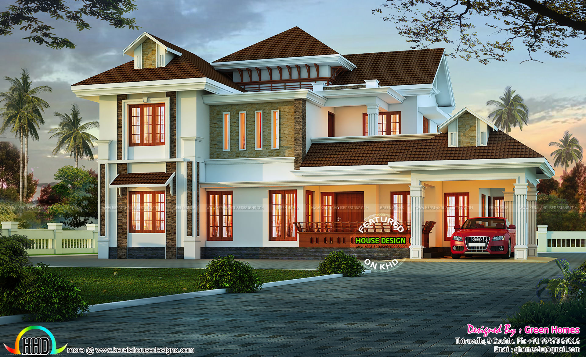 Charming Kerala Home Design Kerala Home Design And Floor