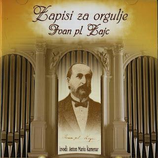 Anton Mario Kamenar-Zapisi za orgulje Ivan pl. Zajc