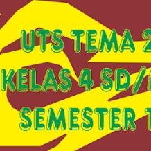 Tema 2   Soal Latihan UTS Kelas 4 Subtema 2 Semester 1 K13