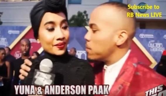 VIDEO Penuh Yuna Dipeluk Dan Dicium Artis Barat Anderson Paak Jadi Bualan Netizen