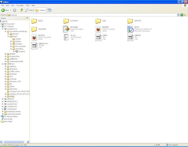 isi drive folder windows untuk booting dari flahsdisk