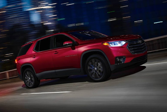 Chevrolet, Chevrolet Traverse, GM, Reports, SUV, USA