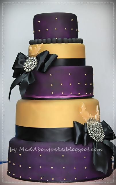 purple and gold wedding cake mad about cake purple and gold wedding cake be bold 18852