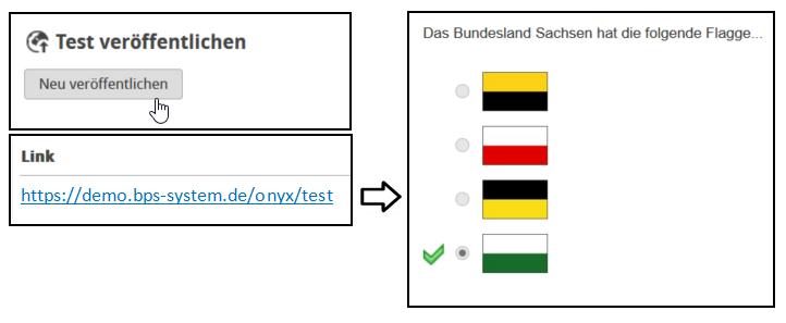 ONYX Testsuite - Test veröffentlichen