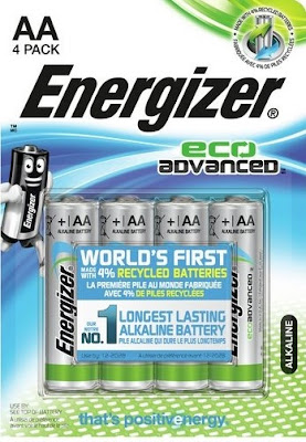 energizer eco advance, battery charger, recycle battery,