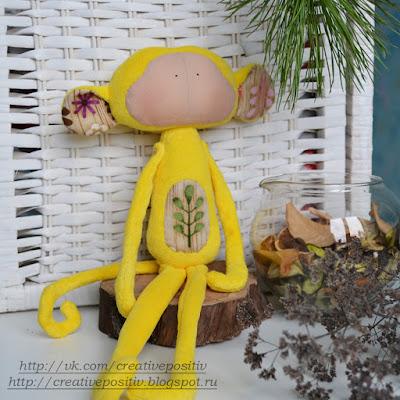 Обезьянка Тильда, символ наступающего 2016 года! Tildas toy box