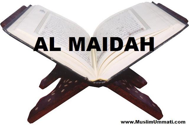 5 Surah Al Maidah