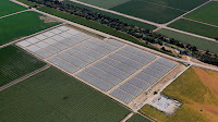 A solar farm at the University of California, Davis. (Credit: UC Davis College of Engineering) Click to Enlarge.