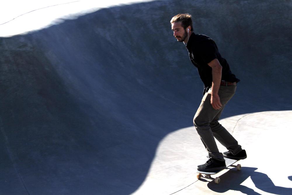 Venice Beach skate park - weekend in Los Angeles, travel blog
