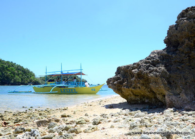 one of the islands in Sipalay