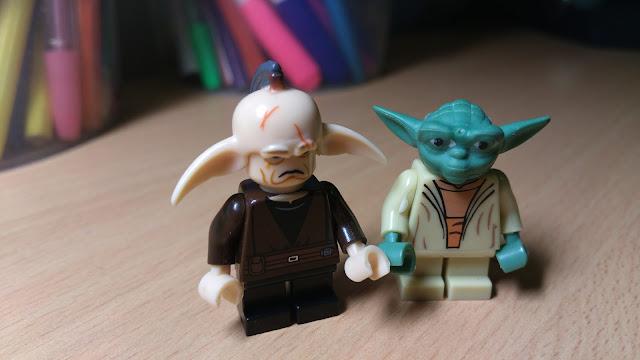 Магистр Йода и Эвен Пиелл минифигурки лего купить