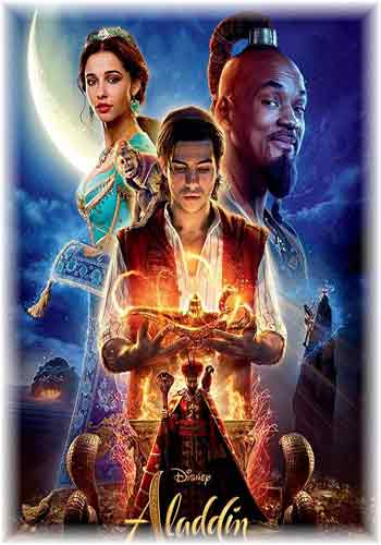 Aladdin 2019 Dual Audio 480p  HDRip