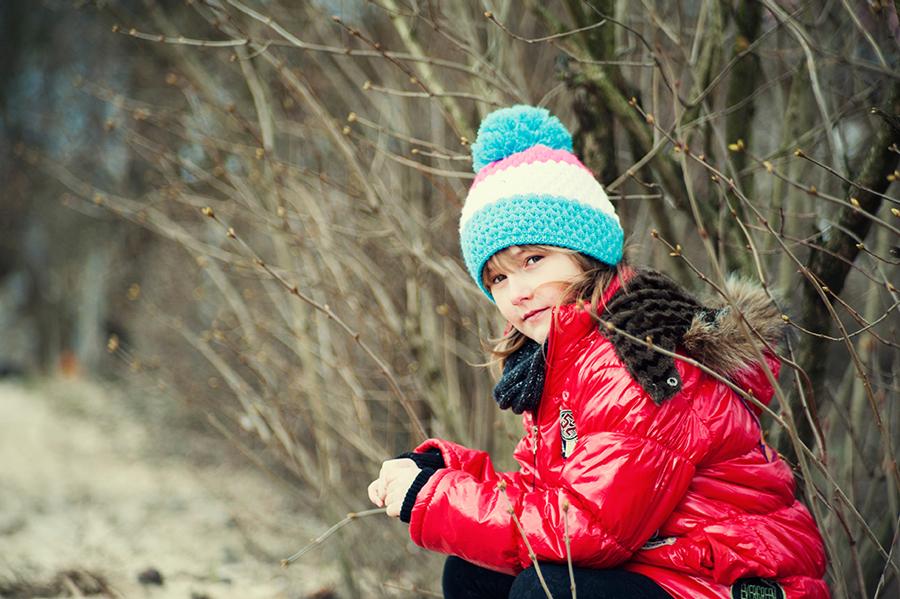 Sesja plenerowa dziecięca - Kasia