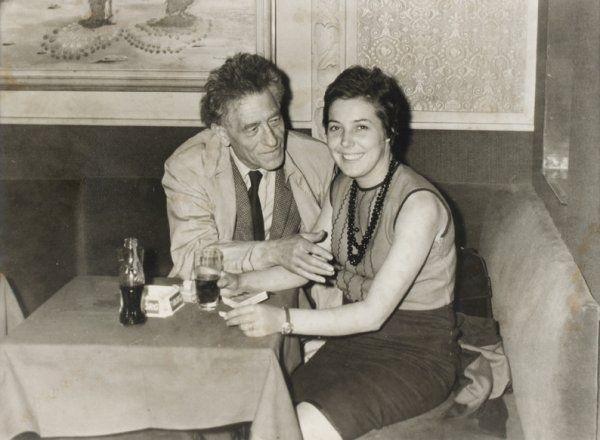 Giacometti y Caroline