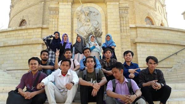 Perkenalkan Tempat Bersejarah di Kairo, Divisi Kaderisasi Sema FBA Adakan Rihlah Situs Budaya