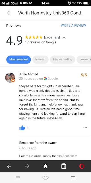 Warih-Homestay-5Star-Review-Arina-Full