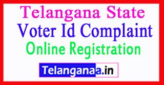Telangana Voter Id Complaint Online Registration