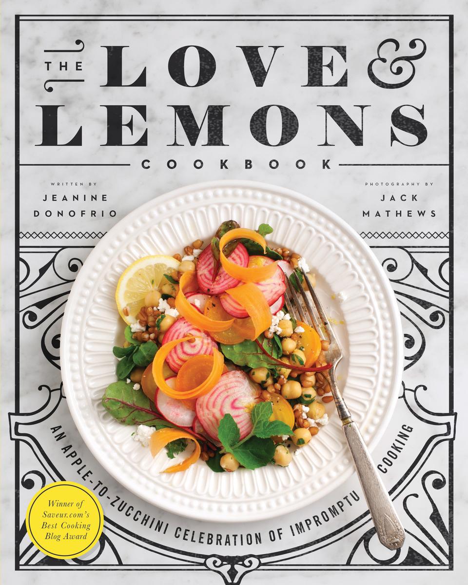 Cook Book Cover : Vegan crunk love lemons cookbook