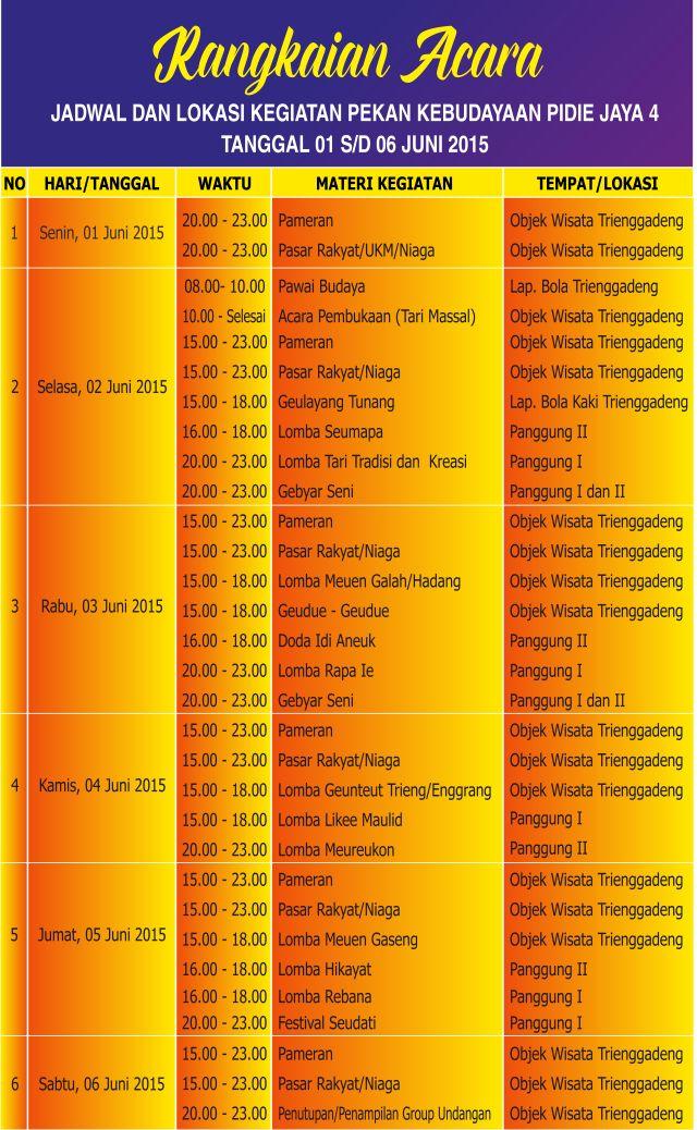 Menteri P3A Buka Pekan Kebudayaan Pidie Jaya 2015, Ini Jadwalnya...