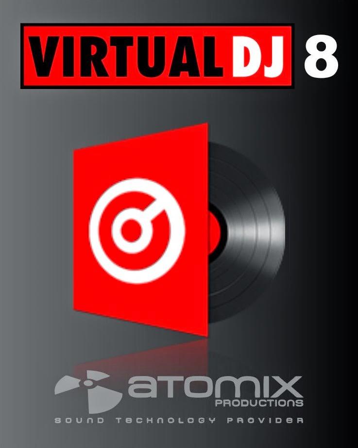 VirtualDJ Pro Infinity v8.0.2523 ESPAÑOL PC Full Cover Caratula
