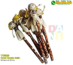 Pensil Boneka Batik