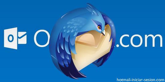 Utiliza Outlook en Mozilla Thunderbird con hotmail iniciar sesion