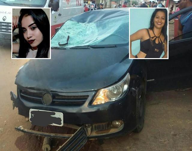 Duas mulheres morrem em trágico acidente no bairro Lagoinha em Porto Velho