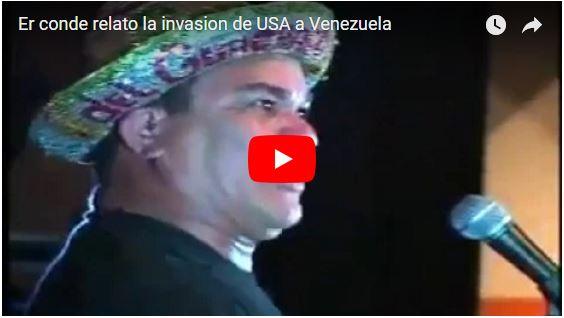 El Conde del Guácharo sabe cómo sería una invasión a Venezuela