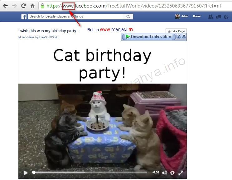 Cara Mudah Download Video di Facebook tanpa Aplikasi