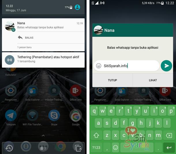 balas wa tanpa buka aplikasi android