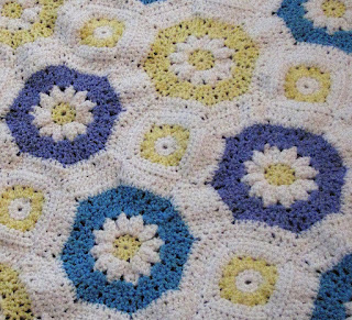 Octagon Baby Afghan Crochet Pattern : Creative Crochet by Becky: Crochet Lacy Daisy Octagon ...
