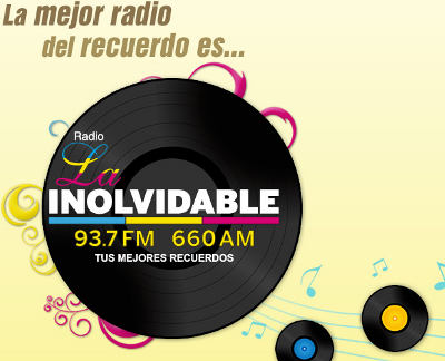 Escuchar Radio La Inolvidable 93.7 FM - Tus Mejores Recuerdos