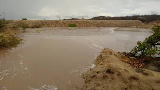 Chuvas animam população do Curimataú e Seridó; açude de Pedreiras em Picuí recebe bom volume d'água
