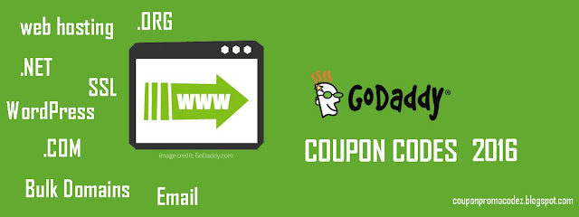 godaddy coupons promo codes for september 2016