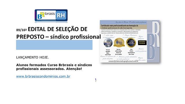 Resultado Seleção de Síndico Profissional: Vaga Estado de São Paulo