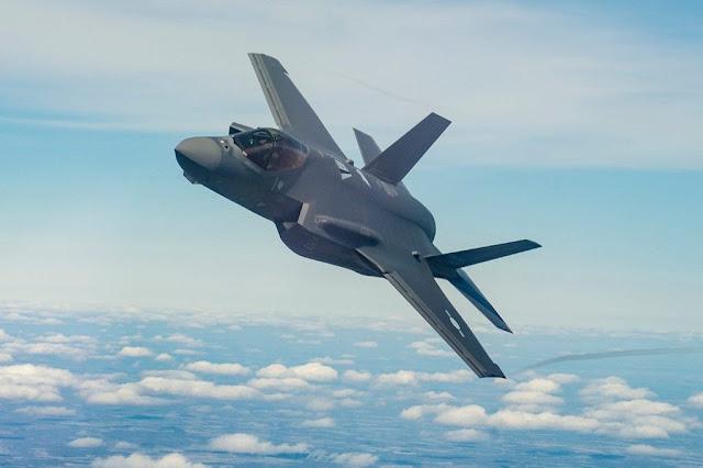 USAF presents F-35 Poland