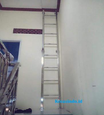 Jasa Pembuatan Tangga Monyet Stainless di sekitaran Bandung