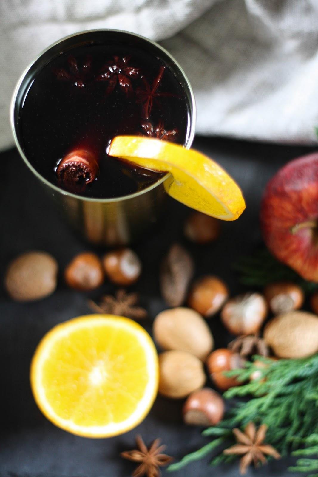 ... UK lifestyle blog based in Birmingham: Mulled wine with orange & honey