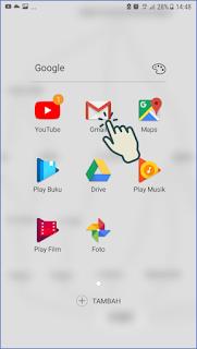 Cara masuk dan menambah akun Gmail di Android
